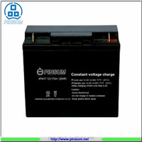 12V 17ah Lead acid battery, rechargeable sealed lead acid battery for emergency lights
