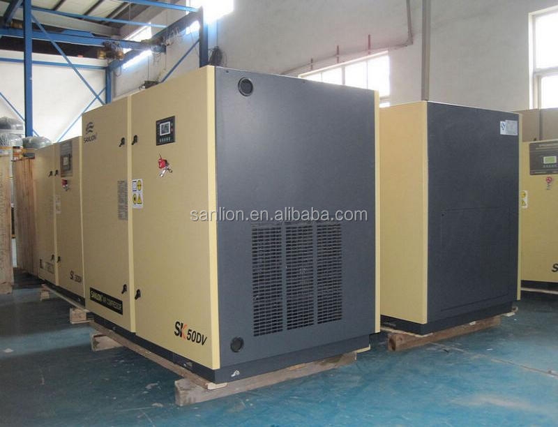 CE Energy Saving 8bar 37kw Screw Air Compressor Price for Sales