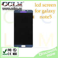 wholesale mobile phone lcd for samsung note 5 , original lcd touch screen lcd display for note 5
