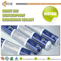 high quality profile aluminum silicone sealant for casement
