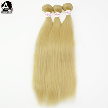 Angelbella Remy White Women Human Hair Ponytail Human Hair Extensions Wholesale Indian Straight Hair