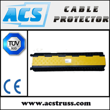 95 x 70mm Channel Size 2 Channels Flexible rubber Cable guard