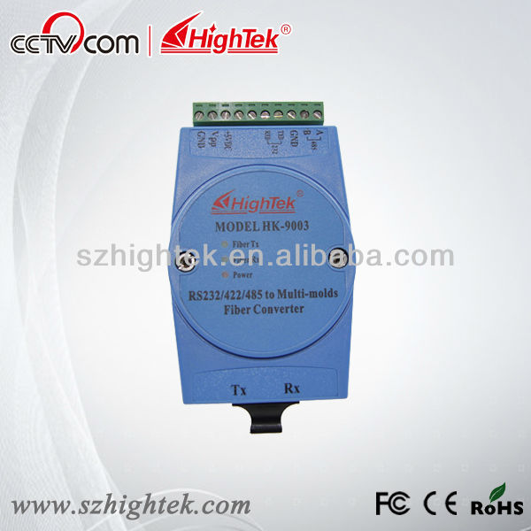 rs485 to fiber optic converter