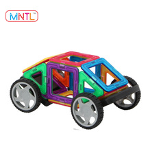 MNTL 56 Pcs Educational Toys Plastic Magnetic Building Blocks 3D Model Magnet Toys Use ABS,Plastic,Safe and Non-toxic Material