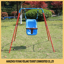 Baby Cradle Swing Chair Set Safety Steel Frame Outdoor Indoor Exercise For Kids