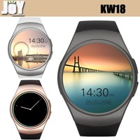 New Arrive KW18 smart watch MTK2502C support IOS Android bluetooth wifi GSM 3G IPS screen