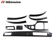 Real carbon fiber interiors trims dashboard decorative moulding trims for BMW 5 series E60 Left hand driver