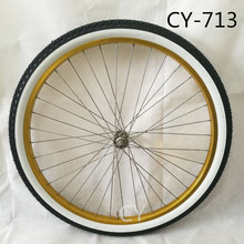 Manufacturer supply high quality white wall bicycle tire 24x2.125 26x2.125