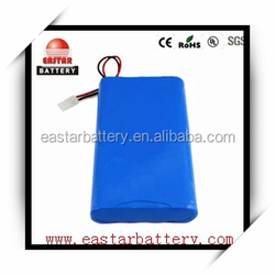 li-ion 18650 battery pack 14.8v 2200mah