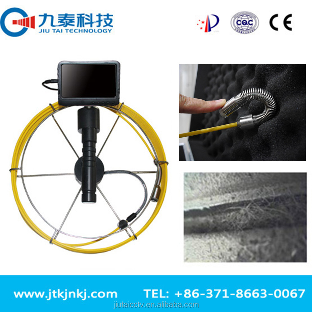 Waterproof Night Vision Pipe and Wall Inspection Camera System