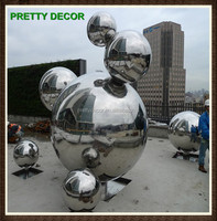 Outdoor Large Decoration Steel Ball Sphere Sculpture