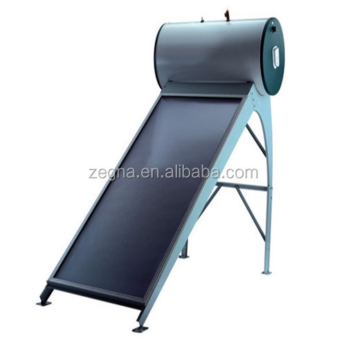Flat plate solar collector /keenest price Integrated Pressurized flat panel solar water heater