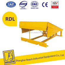 First-class quality popular sale hydraulic steel yard ramp dock leveler