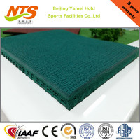 Outdoor Rubber Prefabricated Synthetic Running Track in Roll