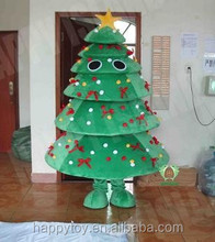 HI CE Top sale christmas tree costume for adult