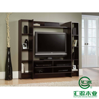 Latest Design Home Furniture LCD Wall Unit Led Light TV Stand Design