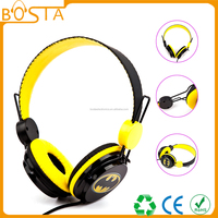 Top quality funny stylish fashion new design cool cute headphone for kids