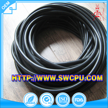 Extruded 8mm black silicone rubber cord