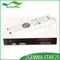 join we newest twin tuner dvb-s2 model zgemma-star 2s fta os full hd satellite receiver hot sell