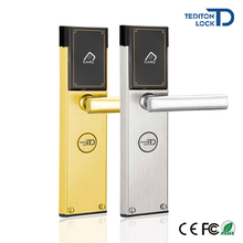 Electronic RFID Hotel Card Door Lock with T5577 card for Hotel Room Lock System