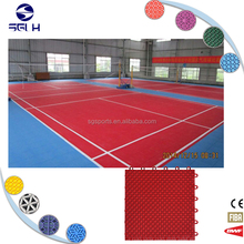 Commercial outdoor waterproof interlocking floating pp floors