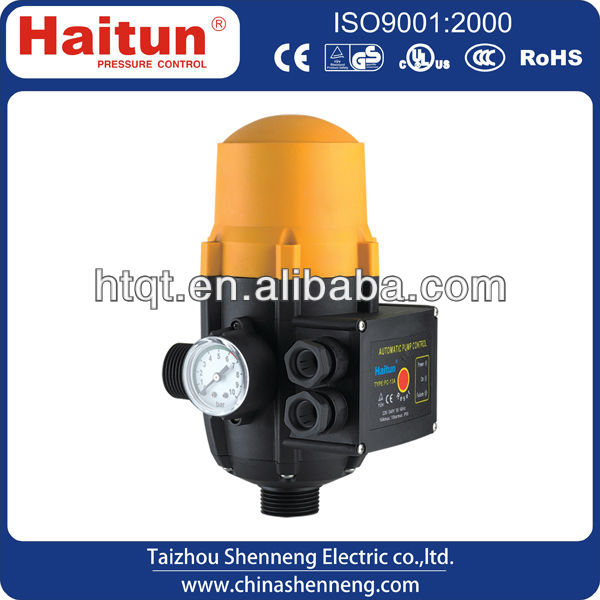 2013 hot sale electric water pressure control