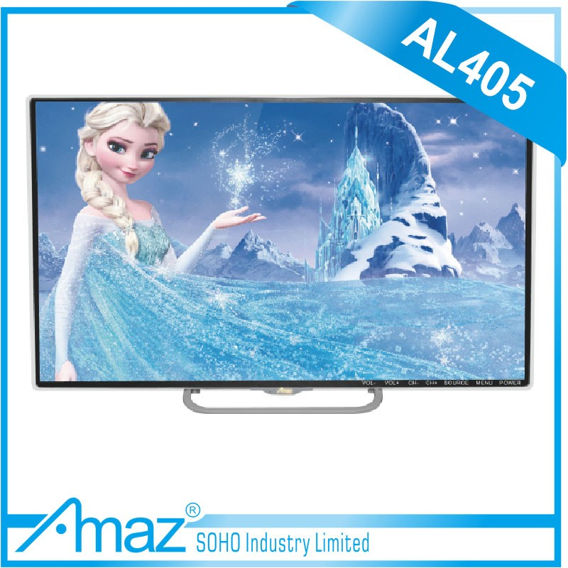 Ultra thin &full hd hot selling led tv analog tv