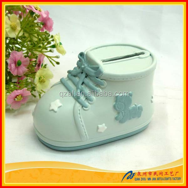 Baby Shower Mini ATM Coin Bank,Baby Custom Coin Bank, Baby Coin Slot Safe Box