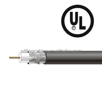 for USA market, RG-6 Coaxial Cable Tri-Shield CCSUL listed