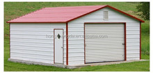 outdoor metal roof steel portable garage canopy carport tent shed made in china