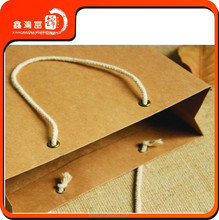 2015 Hot sale Cheap China Beijing Thick Brown Paper Bag