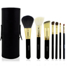 7pcs High Grad Goat Hair Makeup Brush Holder Cylinder Makeup Brush Case/Storage
