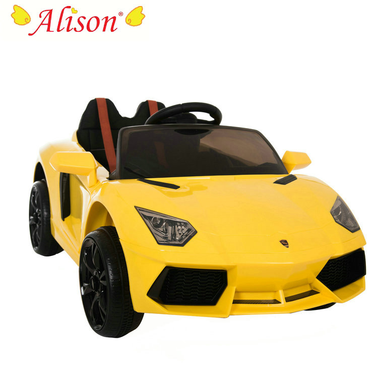 Alison Low Price Children 2 Seater Remote Control Kids Electric Car With MP3 Player