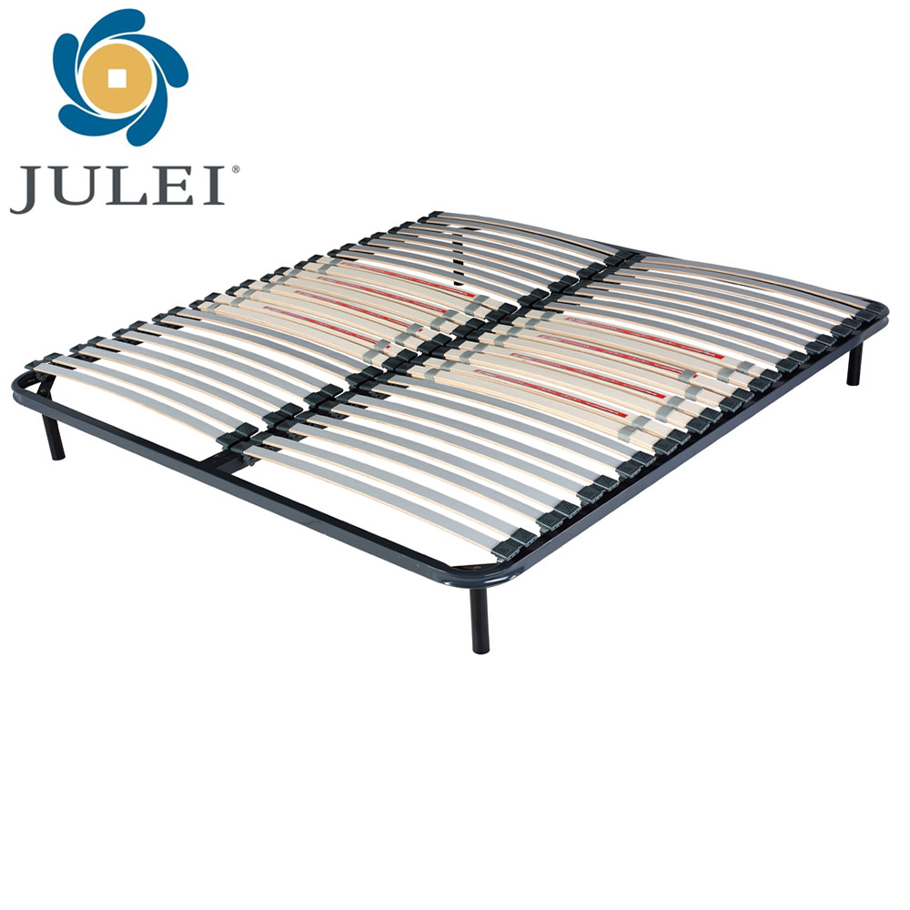 iron bed furniture DJ-PW04-2 metal double mattress bed