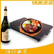 HOT! food warming tray 300W 110v hot plate glass top