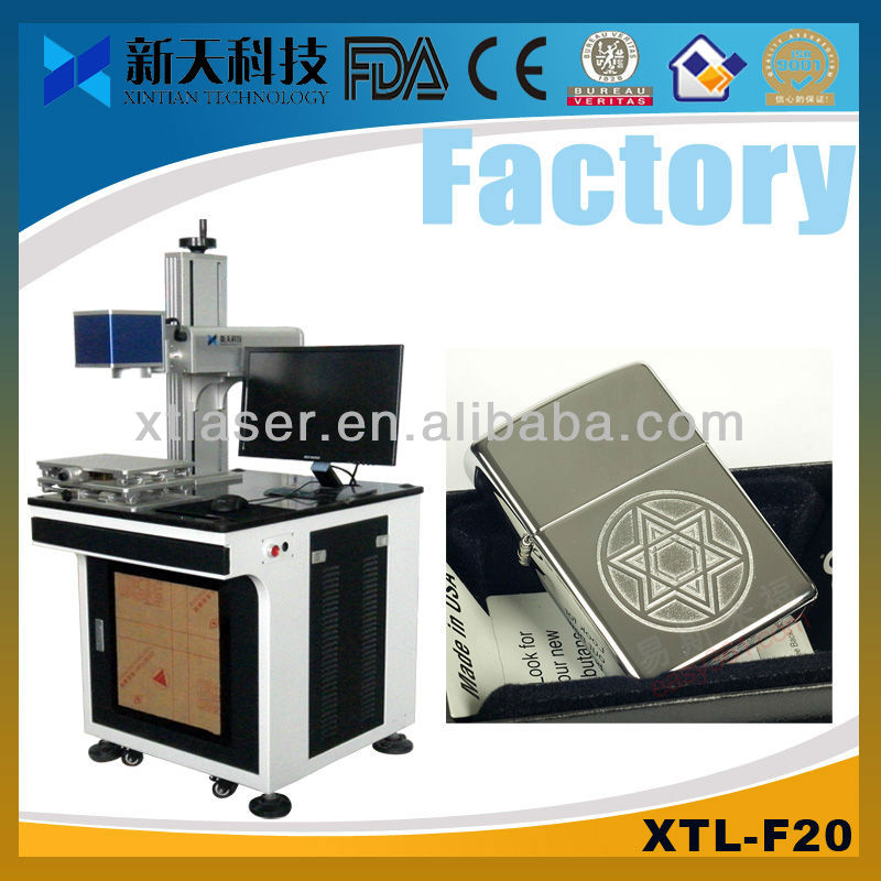 Made in China Fiber Laser Marking Machine 3d metal printer for sale