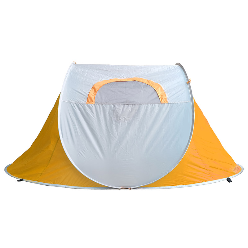 Free Build Blue Single Person Tent For Camping