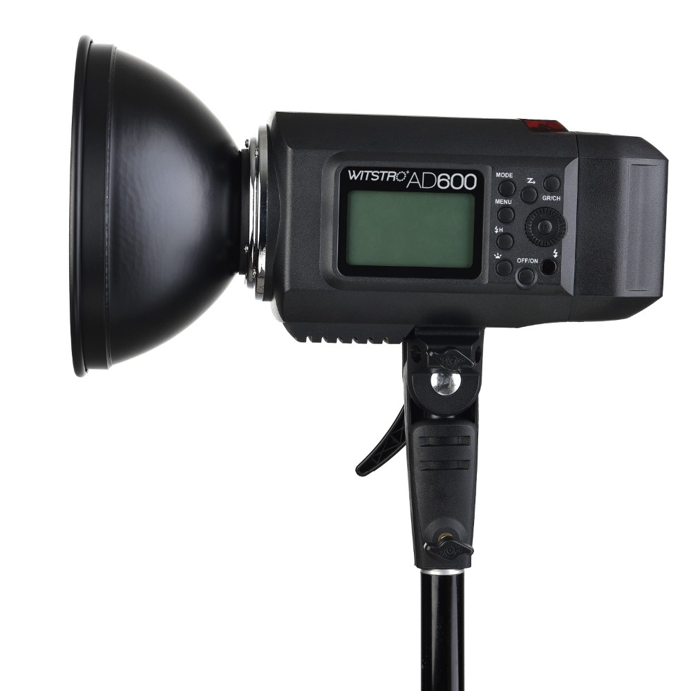 GODOX Wistro AD600B HSS 1/8000s 2.4G TTL Outdoor flash light with big Led modelong head lamp
