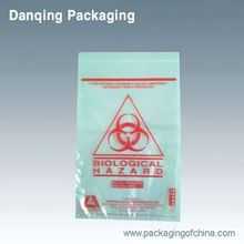 China DQ PACK High quality clear plastic packaging bag for biological