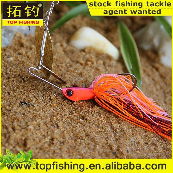 2015 new metal lures fishing tackle spinner baits 2015