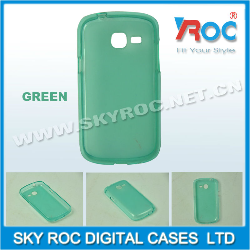 Frosted TPU Phone case for samsung galaxy mini 2 s6500