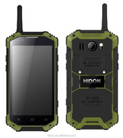 Professional rugged mobile phone IP68 waterproof dustproof Shockproof with Walkie-talkie 4.7 Inch Glass Screen