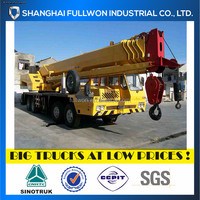 2009 50T SECOND HAND TRUCK CRANE FOR SALE