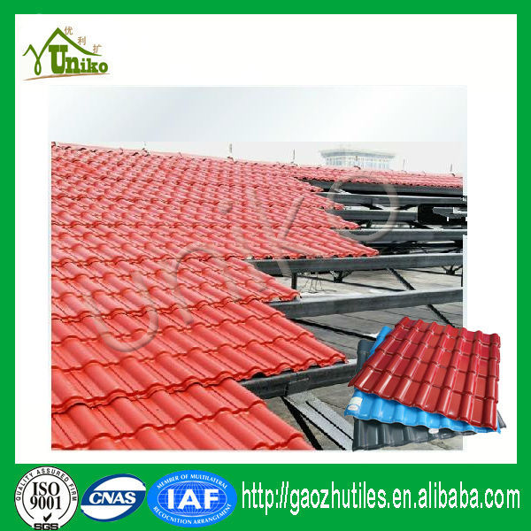 good price high quality hot sell plastic synthetic thatch roof panels, pvc thatch roof