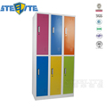 Cheap Steel Metal 6 Doors 2 Tiers School Clothes Steel Gym Employee Storage Cabinet Locker For Sale