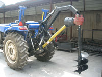 hot efficiency tractor post hole digger for sale
