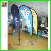 Light Weight Environmental Protection Used Flag Poles
