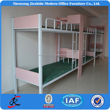 Cheap Metal Frame School Student Bunk Bed Beautiful Style Wholesale Bunk Beds