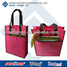Non Woven Promotional Giveaway Bags with Pen Holder