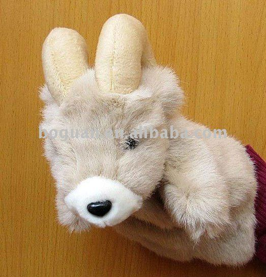 lifelive plush goat toy hand puppet